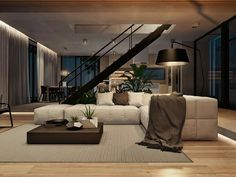 Modern Home Interior Design Arranged With Luxury Decor Ideas Looks ...