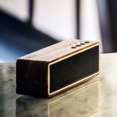 LSTN Apollo Zebra Wood Bluetooth Speaker