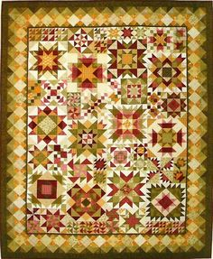 Really like this. Its called Sampler Magic Quilt Pattern by Lori Smith!: