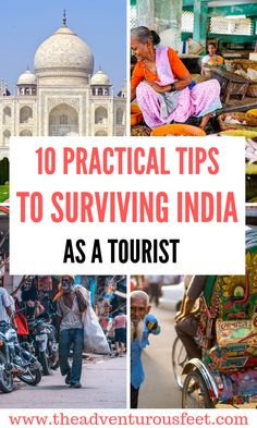 India travel tips: 10 tips on how to survive in India as a first time visitor Traveling to India? Here are the practical tips to surviving your first trip to India. Travel Advice, Travel Guides, Travel Tips, Travel Vlog, Travelling Tips, Travel Info, Travel Deals, Travel Hacks, Travel Essentials
