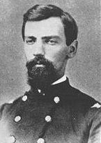 """Rufus R. Dawes (July 4, 1838 – August 2, 1899) was a military officer in the Union Army during the American Civil War. He used the middle initial """"R"""" but had no middle name. He was noted for his service in the famed Iron Brigade, particularly during the Battle of Gettysburg. He was a post-war businessman, Congressman, & author, & the father of four nationally known sons, one of whom, Charles G. Dawes, served as Vice President of the U.S."""