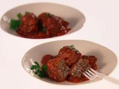 Sweet and Spicy Greek Meatballs (Keftedes me …