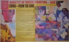 Babette de Waele: Painting--And Living--From The Soul Oct 16, 2014 (print only)