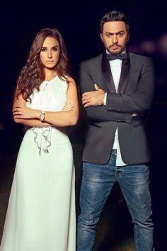 شيري عادل و تامر حسني Arab Celebrities, Celebs, Egyptian Beauty, Formal Dresses, Couples, Fashion, Celebrities, Formal Gowns, Moda