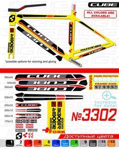 Pegatinas para Bici Juego de Adhesivos en Vinilo para Bici Giant ANTHEN 2 Pegatinas Cuadro Bici Sticker Decorativo Bicicleta