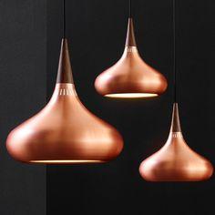 JO HAMMERBORG, Orient pendant light, designed in 1963 and manufactured byFog & Mørup, Denmark. / Stilbasis