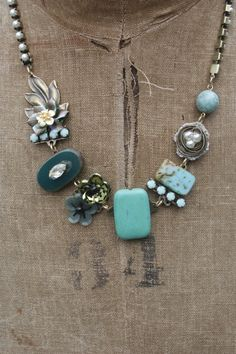 Necklace inspiration. Love this!