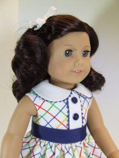 Pique Sundress for American Girl doll Ruthie