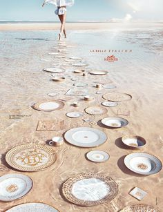 hermes advertising campaign -  Repinned by www.fashion.net