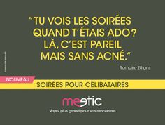 Meetic by DDB - Parties for singles