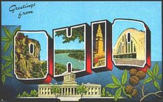 1940s post card from our hometown Columbus Ohio. Showing the best and beutiful…