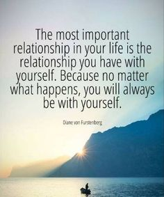 The Most Important Relationship in Your Life is The Relationship You Have with Yourself – Great Relationship Quotes