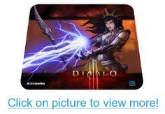 SteelSeries QcK Diablo III Gaming Mouse Pad - Wizard Edition #SteelSeries #QcK #Diablo #III #Gaming #Mouse #Pad #Wizard #Edition