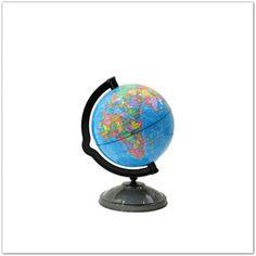 Pinkbagoly: Földgömb alakú persely világutazóknak, 16cm Globe, Speech Balloon