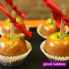 Adım Adım Elma Şekeri Yapımı Enfes Yemek Tarifleri