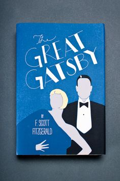 The Great Gatsby | Book Jacket Redesign by Ashley Armour Kittrell, via Behance