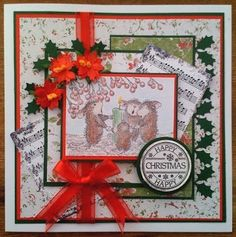 House mouse Singing time! http://veritycards.blogspot.co.uk/?m=0