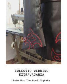 Wedding Dreams, Dream Wedding, Eclectic Wedding, Alternative Bride, Bespoke Suit, Suit Accessories, Wedding Fair, Bride Groom, Party Time