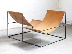 Crossed Double Seat by Muller Van Severen