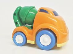 Collectible toy car, baby plastic mixer car, multi-color, used, free ship Mixer, Boy Or Girl, Plastic, Ship, Toys, Car, Girls, Free, Collection