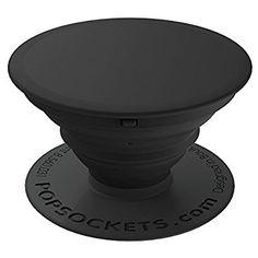PopSockets Stand for Smartphones & Tablets - Black/black
