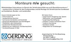 Stellenbezeichnung: Monteure / Baustellenmonteure m/w in Vollzeit  Arbeitsort: 48308 Senden Nordrhein-Westfalen, Deutschland  Weitere Informationen unter: http://stellencompass.de/anzeige/?id=139413
