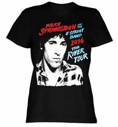 """Bruce Springsteen Croke Park Dublin 2016 Ladies Tee) """"NEW"""""""