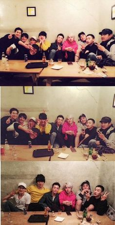 Super Junior, EXO, TVXQ, and SHINee spend time with Eunhyuk before his enlistment | allkpop