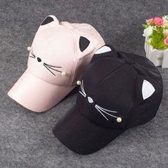 Cute cat baseball cap