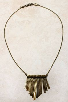 Golden Liv Necklace | Emma Stine Jewelry