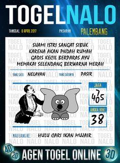 Angka Mimpi 6D Togel Wap Online TogelNalo Palembang 8 April 2017