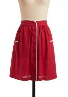 Swap only - Skate Key Skirt, size small #ModCloth