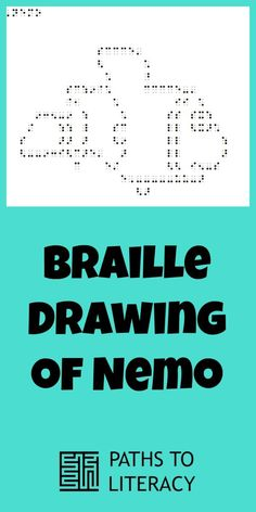 Make your own braille drawing of Nemo!