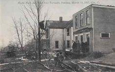 Hyde Park East End Tornado 1917 Cincinnati Ohio OH #3 -- Antique Price Guide Details Page