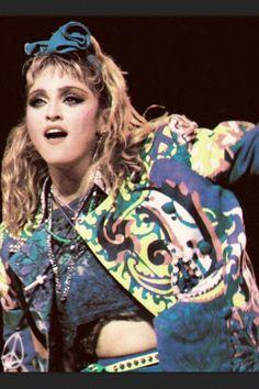 Madonna Virgin Tour 85