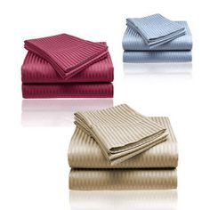 84% Off GSM Wrinkle Free Deep Pocket Sheet Set – Choice of 4 Sizes and 12 Colors Originally $99.95 Now $15.99