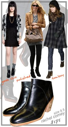 3 ways to wear: ankle boots