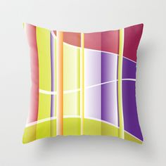 Abstract 107 Throw Pillow cover by Ramon Martinez Jr - $20.00