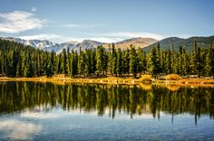 Rocky Mountain National Park ~ Colorado.   The 10 Most Visited U.S. National Parks