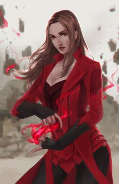 Scarlet Witch by Glaesii.deviantart.com on @DeviantArt - More at…