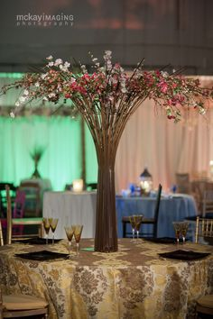 Flowerful Events Custom Tabletop Design