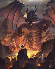 "8 Likes, 1 Comments - @gameswallpapers on Instagram: ""#fantasy  #art  #deviantart  #cute  #original  #3 #dragon"""