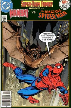 Super-Team Family: The Lost Issues!: Man-Bat Vs. Spider-Man
