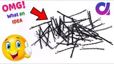 WOW !! Best out of waste hair pins craft idea /cool craft IDEA | best wa...