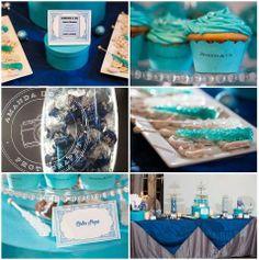 Candy and Dessert Buffet Tiffany Blue Wedding - Dec 2012