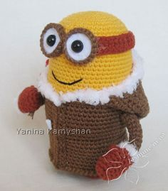 Crochet Pattern - Eskimo Monster crochet toy amigurumi PDF pattern by jasminetoys