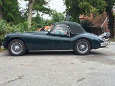 Jaguar XK140 à Panker