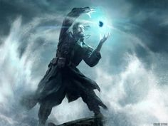 fantasy mage wizard sorcerer art artwork magic magician