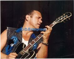 MIKE PINEAR PHOTO RARE CLESSIC ROCK ALL STARS
