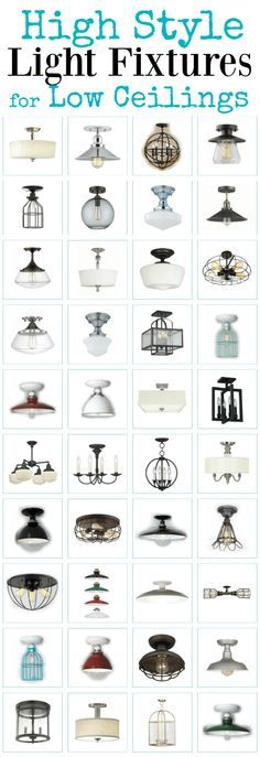 These Gorgeous High Style Ceiling Lights Will Dress Up a Low Ceiling. High style semi flush ceiling lights for standard height ceilings. living room lighting ideas ceiling You can get more details by clicking on the image. Low Ceiling Lighting, Semi Flush Ceiling Lights, Hallway Lighting, Bedroom Lighting, Hallway Ceiling Lights, Ceiling Fan, Pendant Lighting, Ceiling Lights For Kitchen, Hair